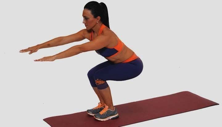 wants to learn ways to practice squats exercises to tighten the body. Especially for the impact on