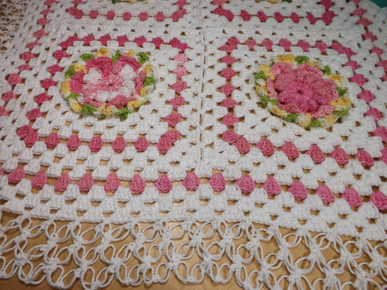 Crochet colcha de cuadrados o granny squares para bebé parte 2 - con ...