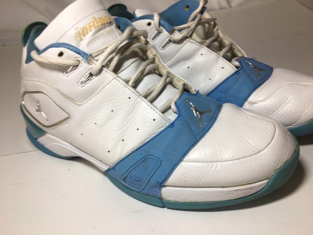 Nike Air Jordan Team Handlez White Metallic Silver University Blue 311834- 102 | eBay