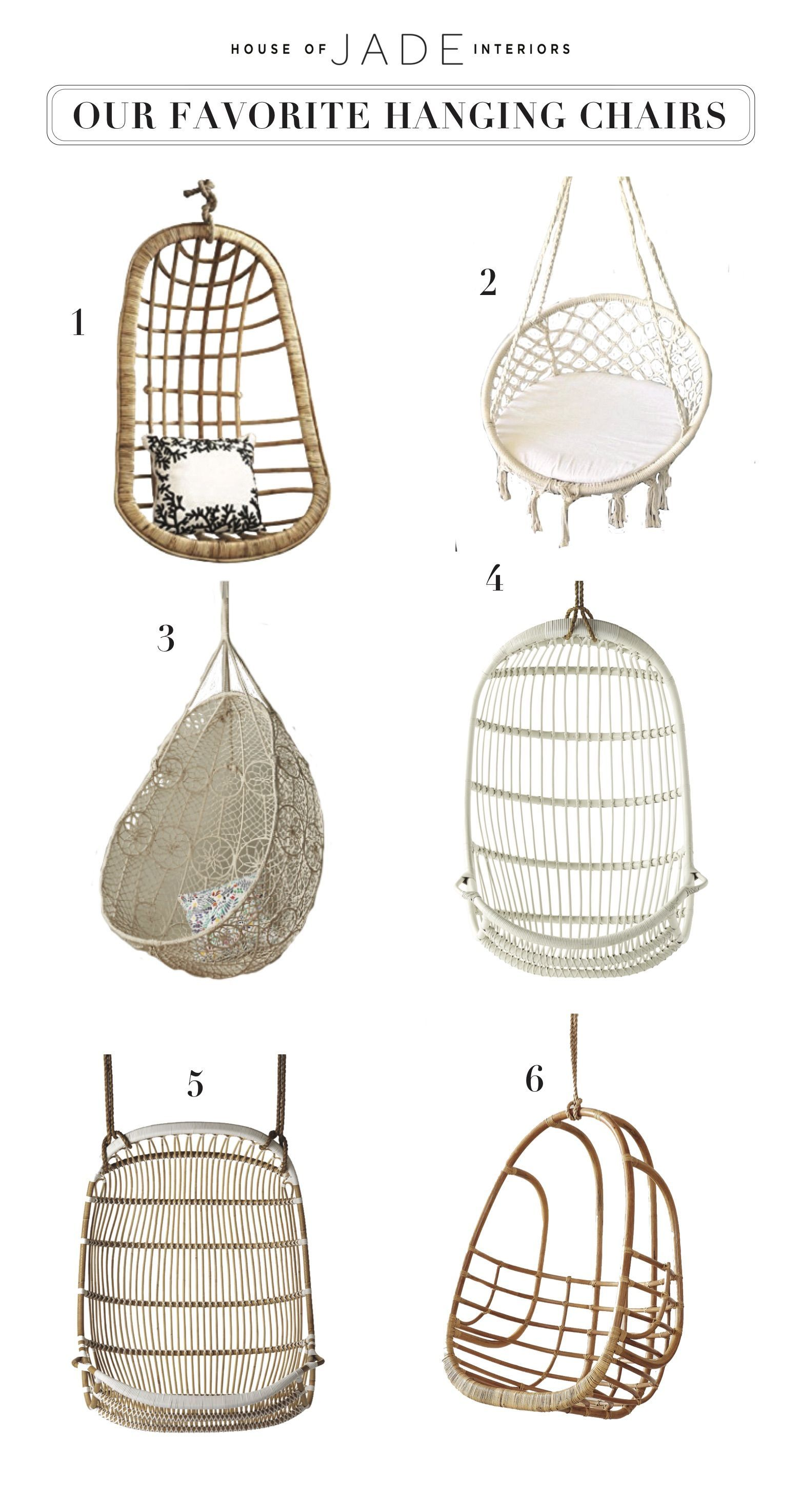 Hanging Chairs Are A Fun Way To Make A Space Feel More Livable And Casual.