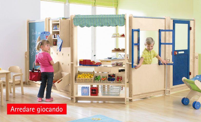 Arredo servizi all infanzia arredi scuola infanzia arredamento