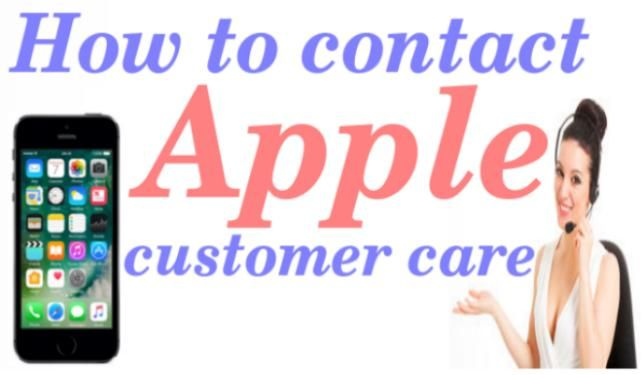 How to contact Apple customer care phone number