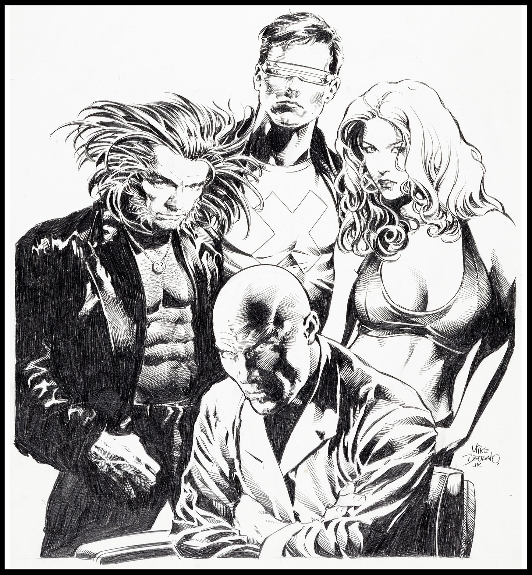 Pin By Derek Anderson On Comic Art Mike Deodato X Men Comics