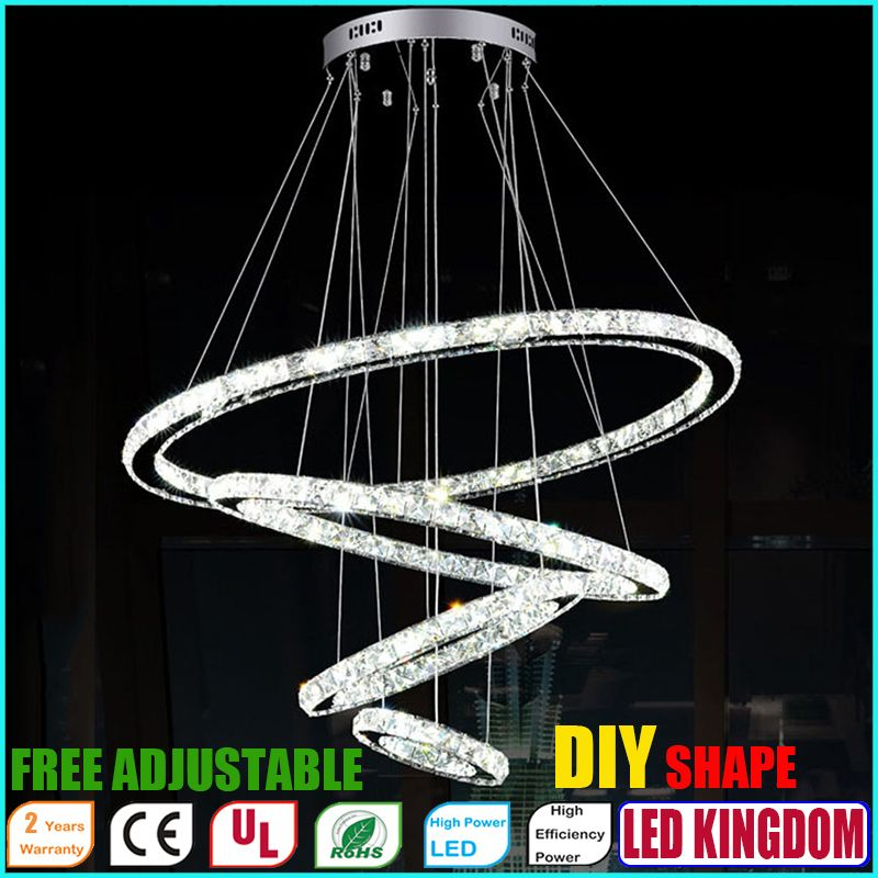 Find More Pendant Lights Information About Diy Led Pendant Lamp Chandeliers K9 Crystal Hang With Images Crystal Pendant Lighting Hanging Pendant Lamp Lighting Ceiling Lamp
