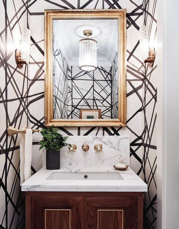 20 Quick & Clever Powder Room Makeover Tips | Powder room ...