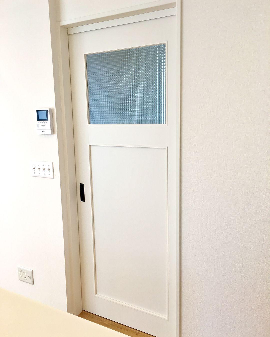 どぅんのマイホーム記録 ドア 3枚扉以外 ドアは全て