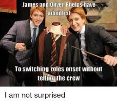 Fred And George Weasley Funny Faces Google Search Fred And George Weasley Harry Potter Jokes George Weasley