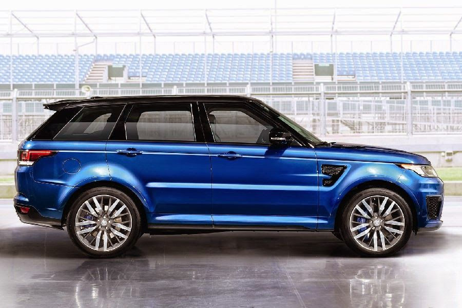 Range Rover SVR Autos, Parking
