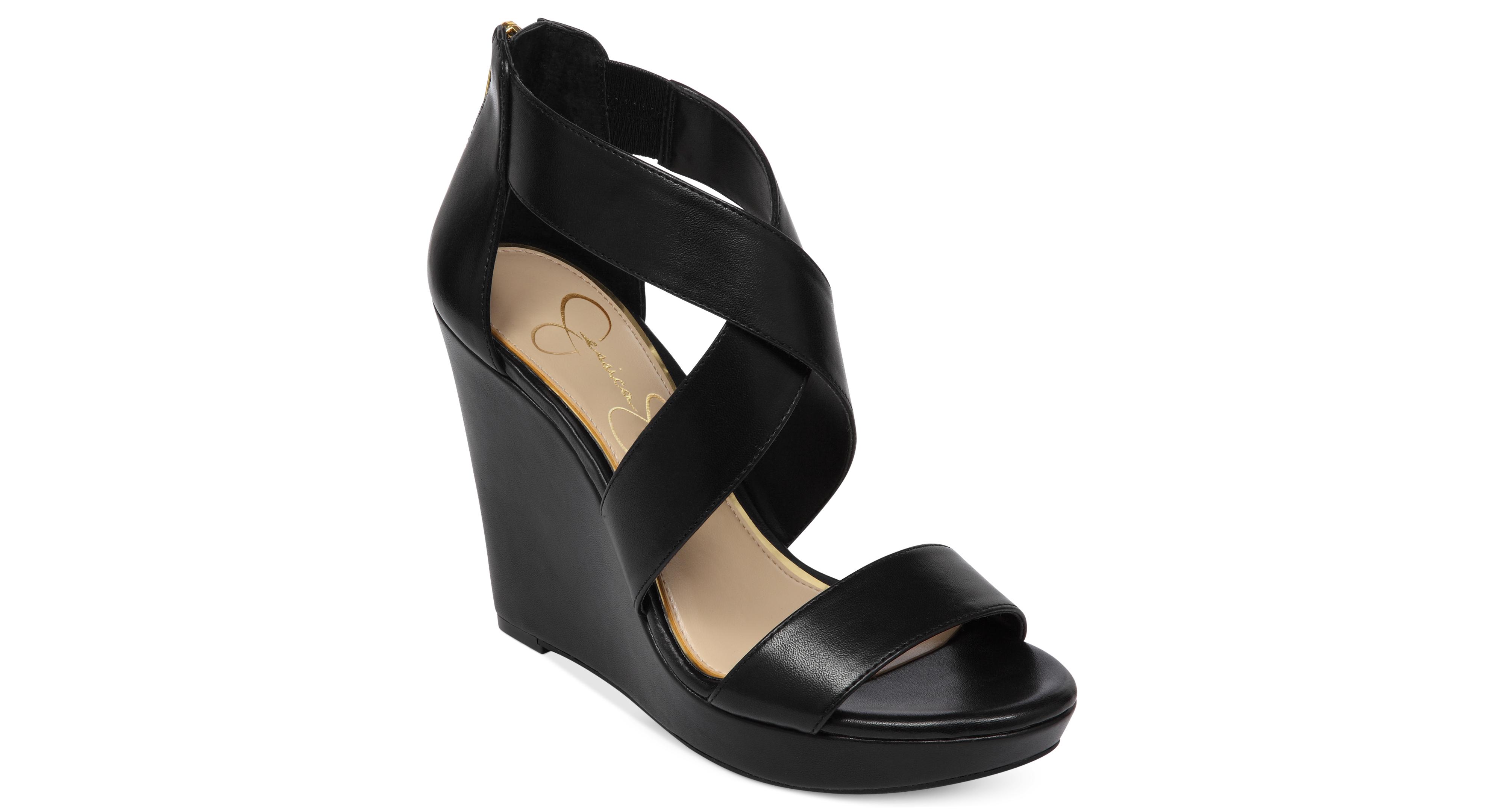 6bedf52b48acc Jessica Simpson Jinxxi Platform Wedge Sandals | Products | Shoes ...