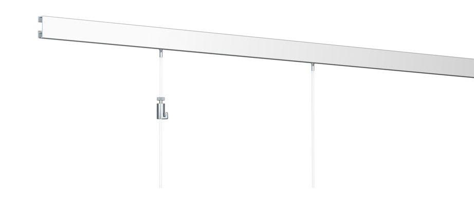 cimaise murale tableau click rail arti teq cimaises. Black Bedroom Furniture Sets. Home Design Ideas