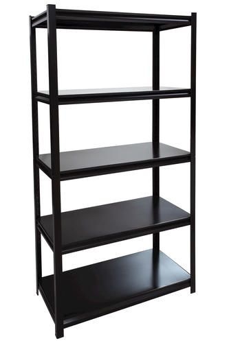 Performax Black 5 Shelf All Steel Storage Rack 69 99