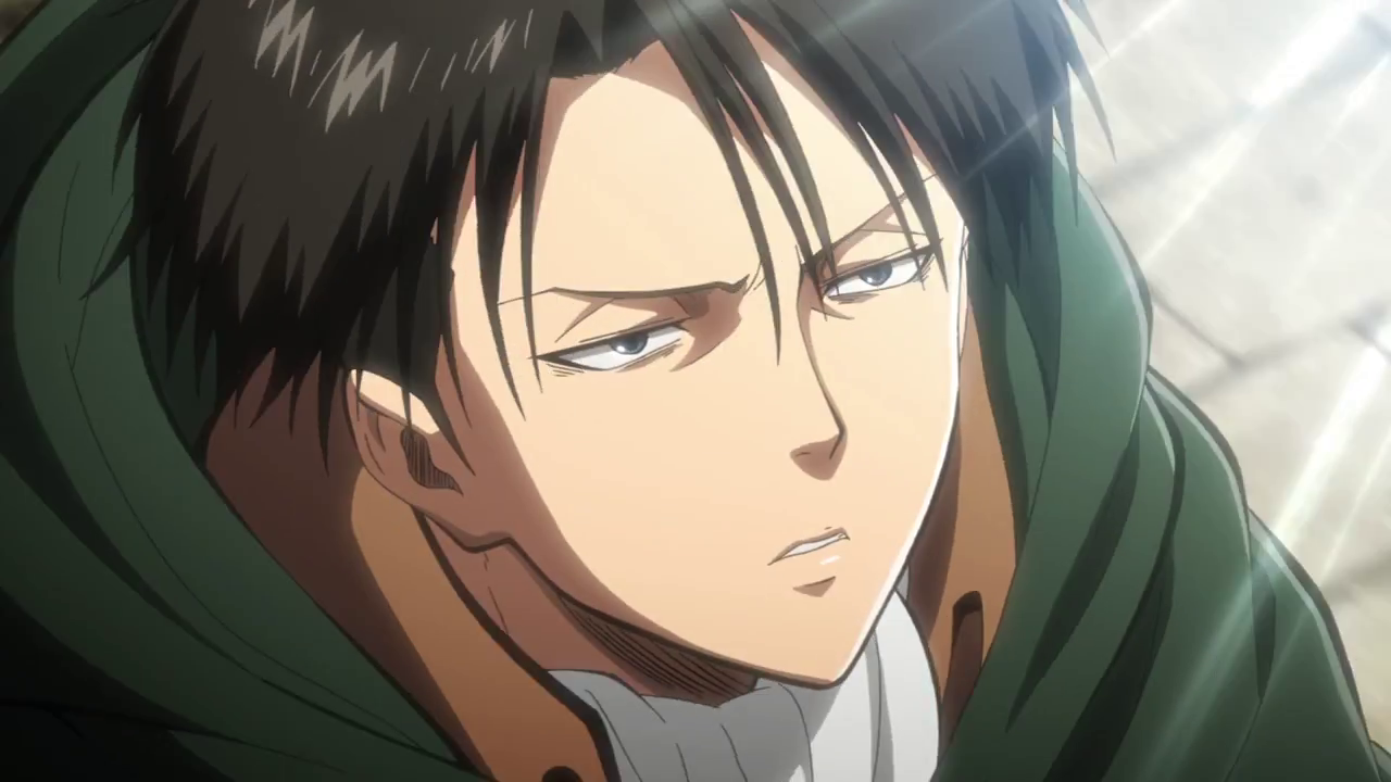 A Choice with No Regrets OVA Part II trailer - Levi Screencaps
