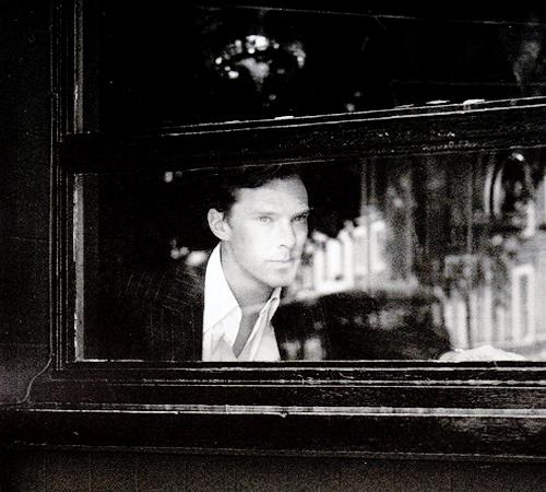 behind the window...