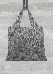VIDA Tote Bag - Gray Zebra Tote Juul by VIDA 7lctzo55