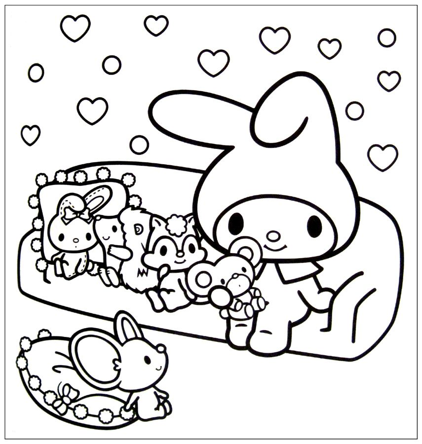 Kawaii Coloring Pages ♡ coloring pages ♡ Coloring