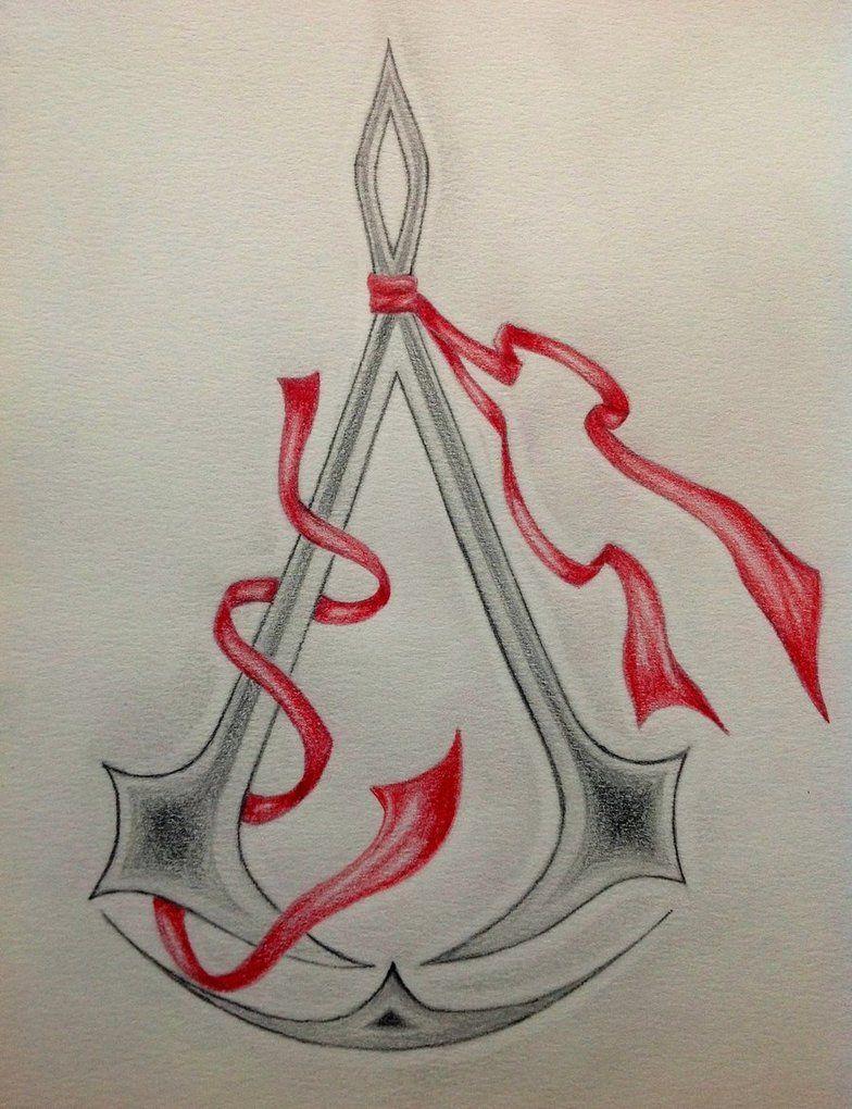 Assassin's creed symbol tattoo idea Assassins creed