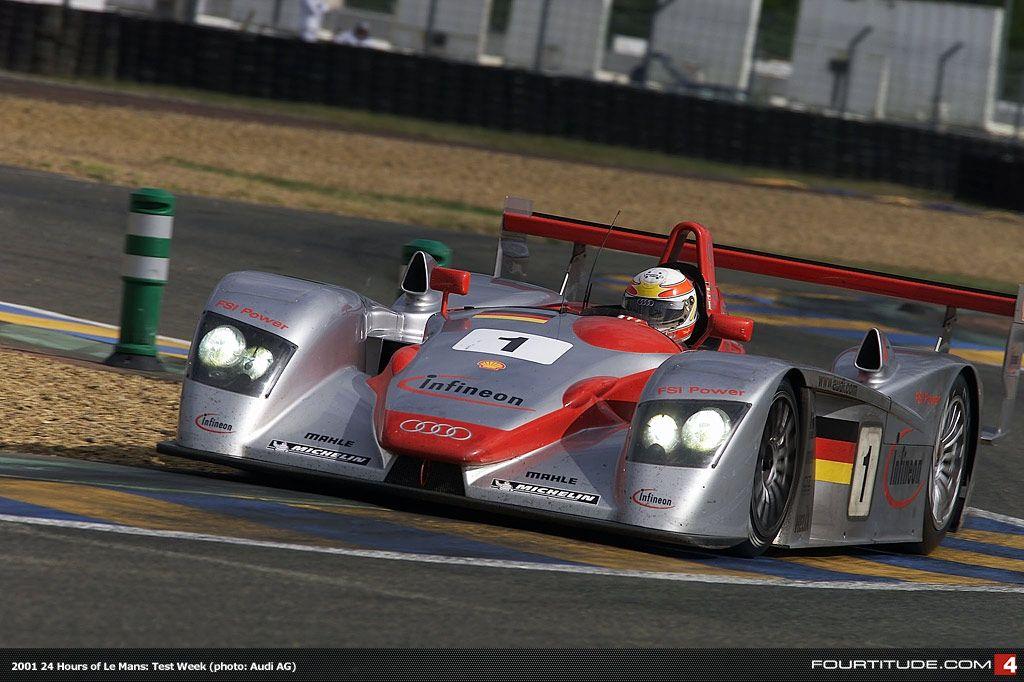 Car Audi R Year Class LMP Team Audi Sport Team - Audi r8 race car 01 gt6