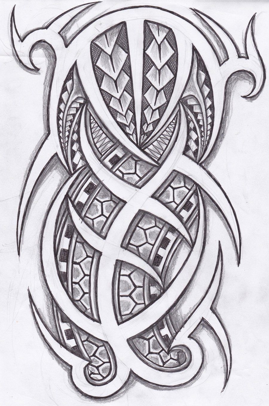 Polynesian tattoo designs cool ideas designs - Inspirational Tattoos Tribal Tattoos Easy To Draw