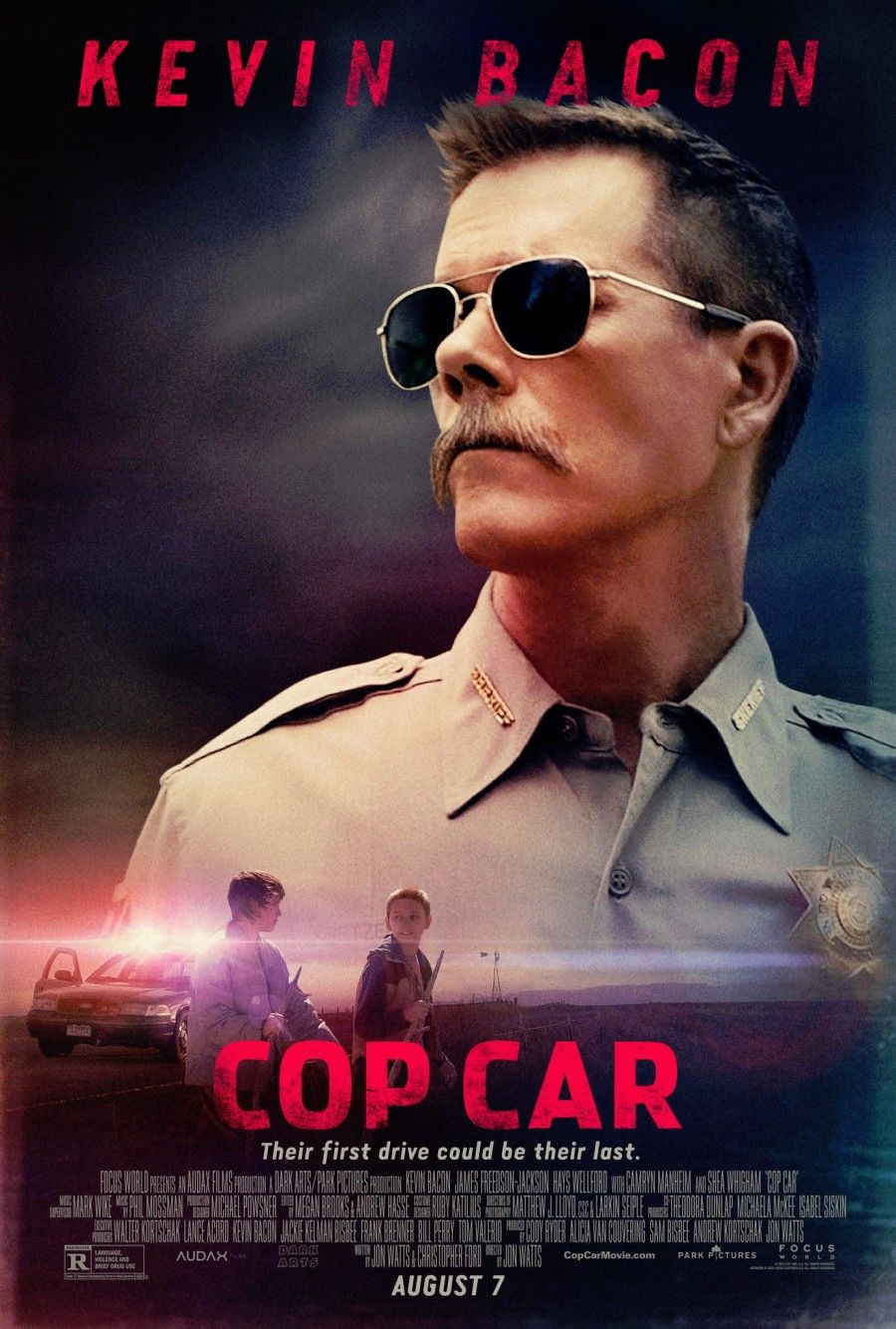 Movie review cop car 2015 kevin bacon good movies