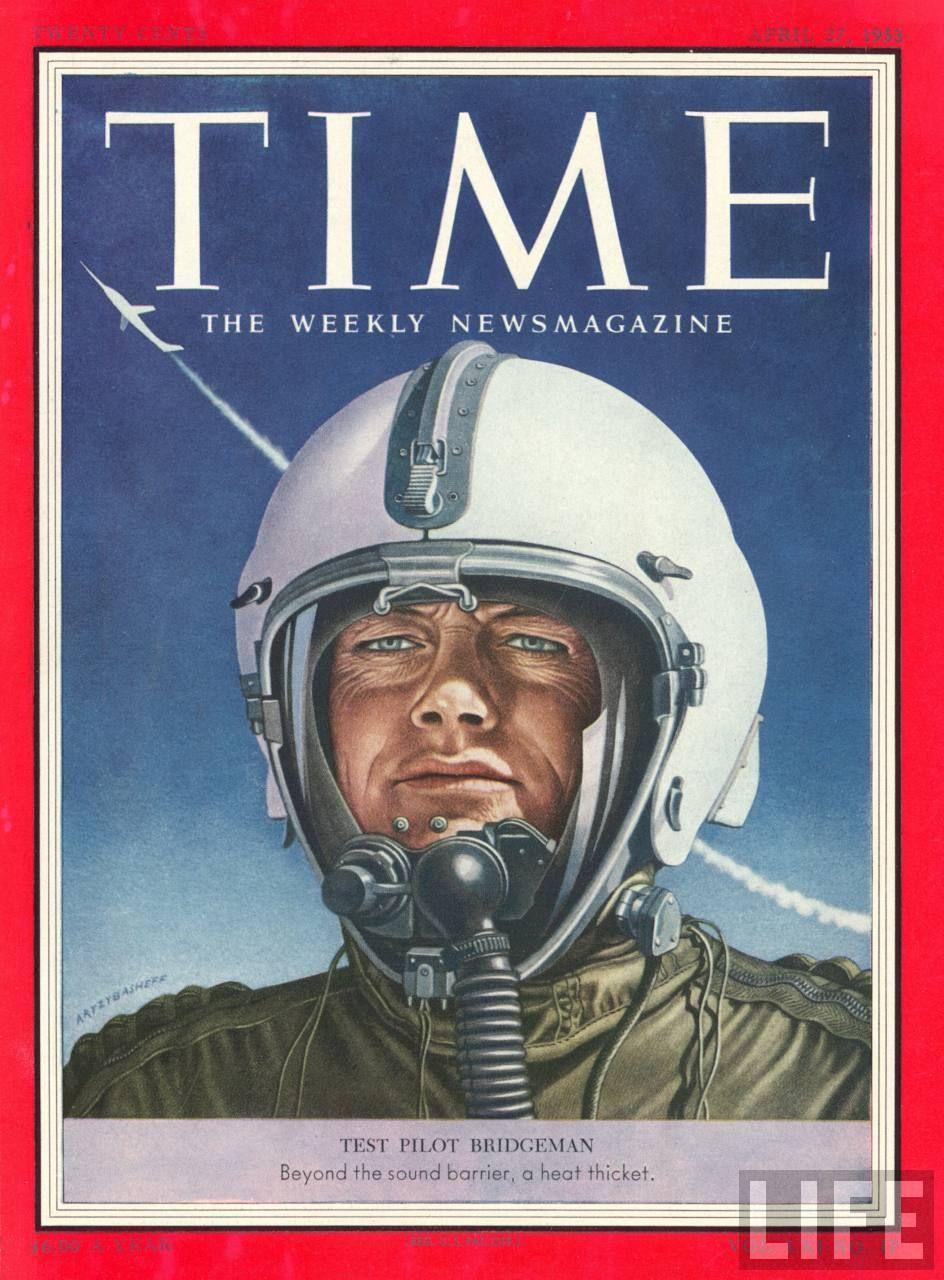 William Barton Bridgeman, Douglas Aircraft test pilot