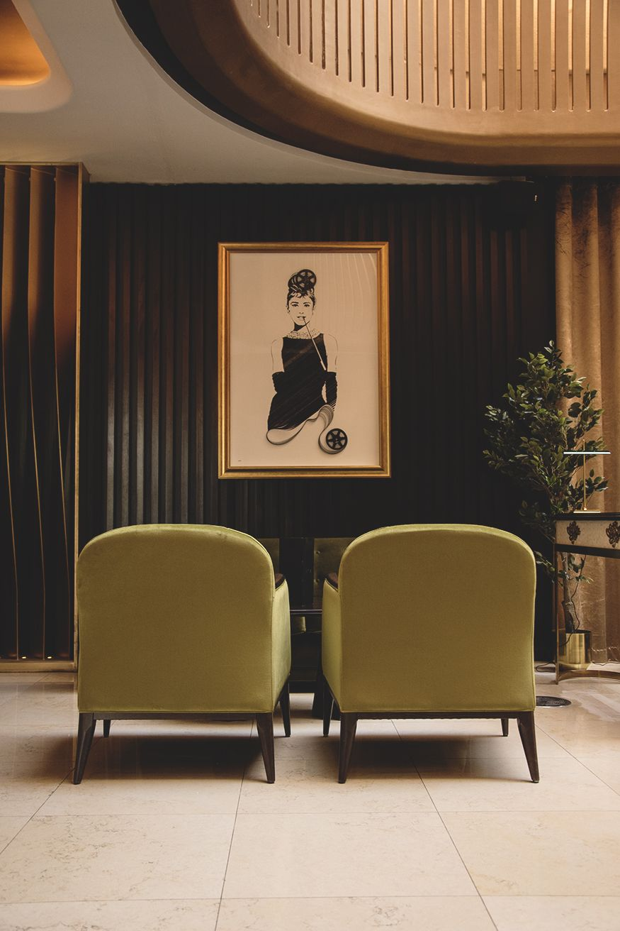 Classic Interior Design With Nods To Old School Hollwood
