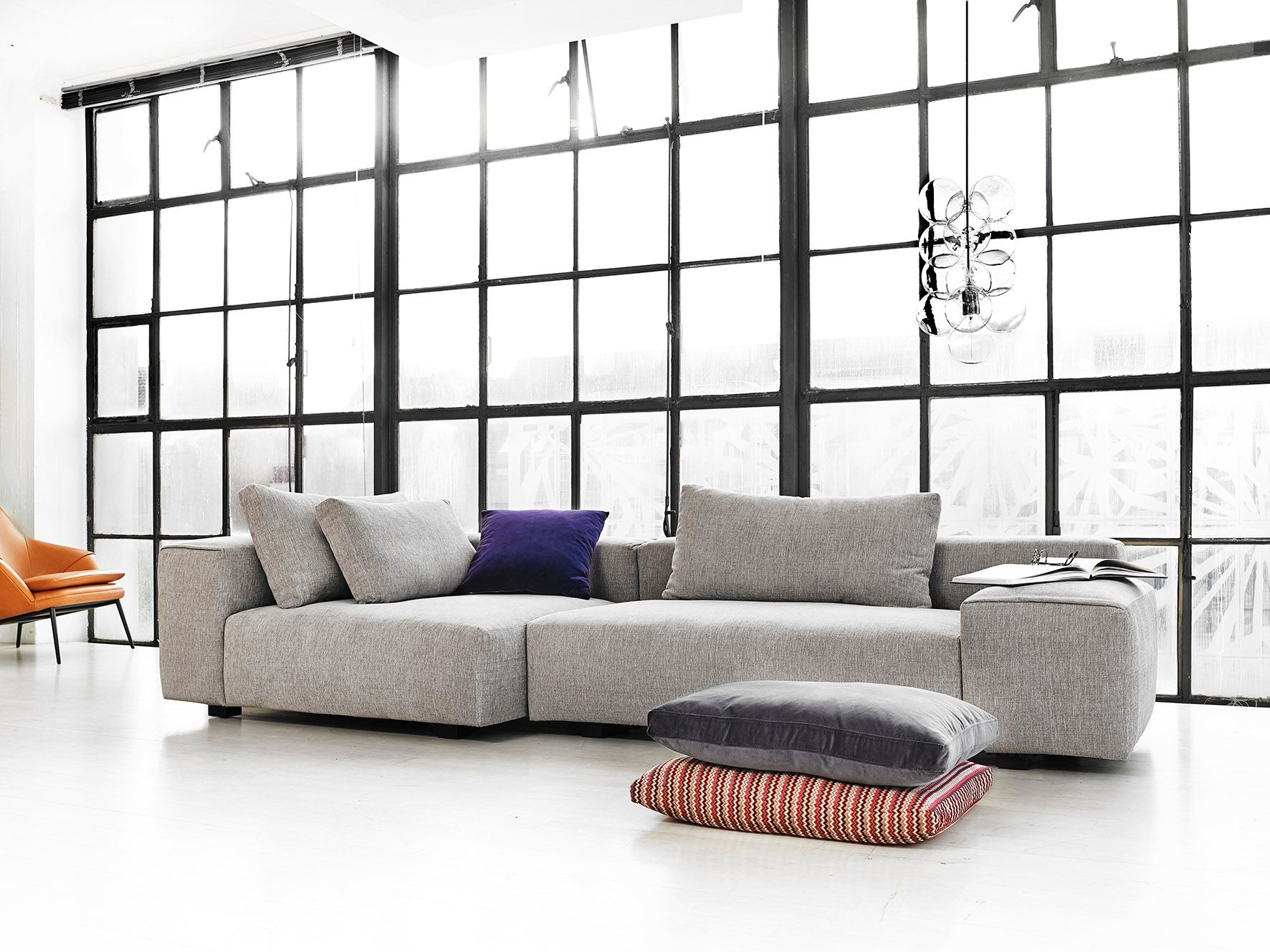 Discover All The Information About The Product Modular Sofa / Contemporary  / Leather / Fabric RAFT By North   Wendelbo And Find Where You Can Buy It.