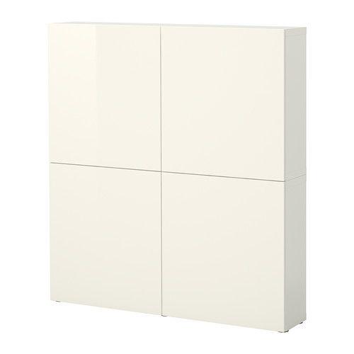 Ikea Türen bestå aufbewahrung mit türen weiß tofta hochglanz weiß ikea