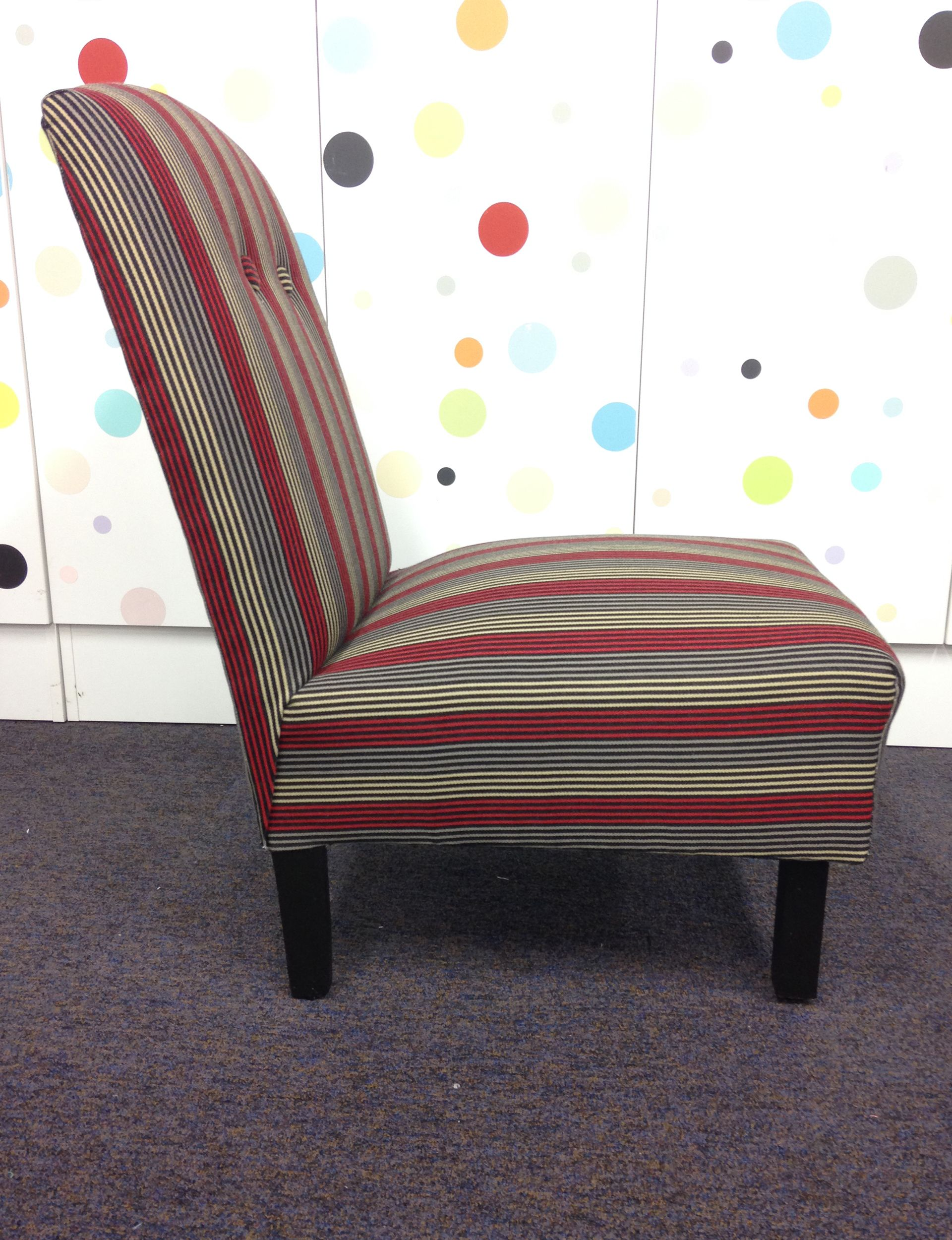Your Step-by-step Guide To Reupholstering An Armless Chair