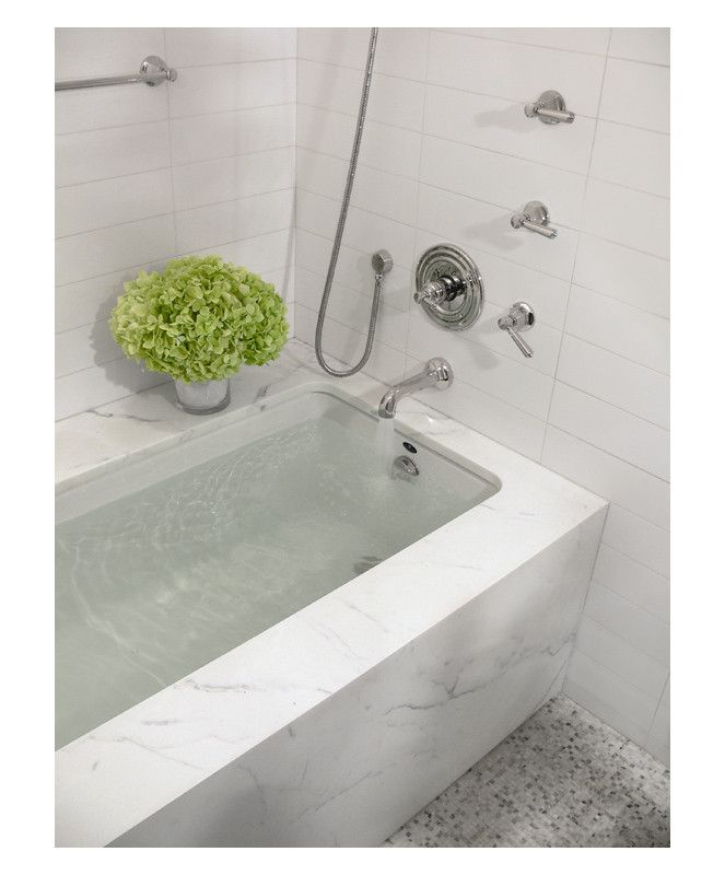 Complete Tile Collection Mid Town NYC Residence, Master Bath - South ...