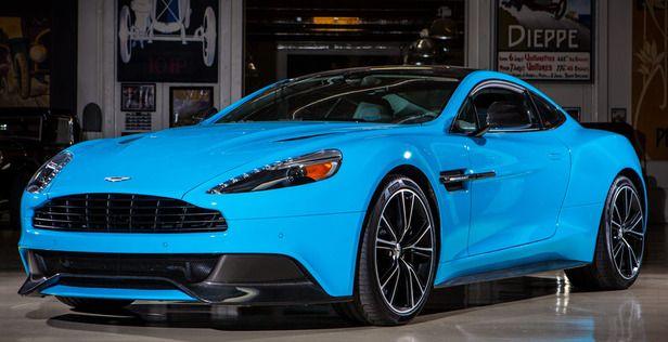 2013 Aston Martin Vanquish... in Grabber Blue. Something i ...Aston Martin Vanquish Blue