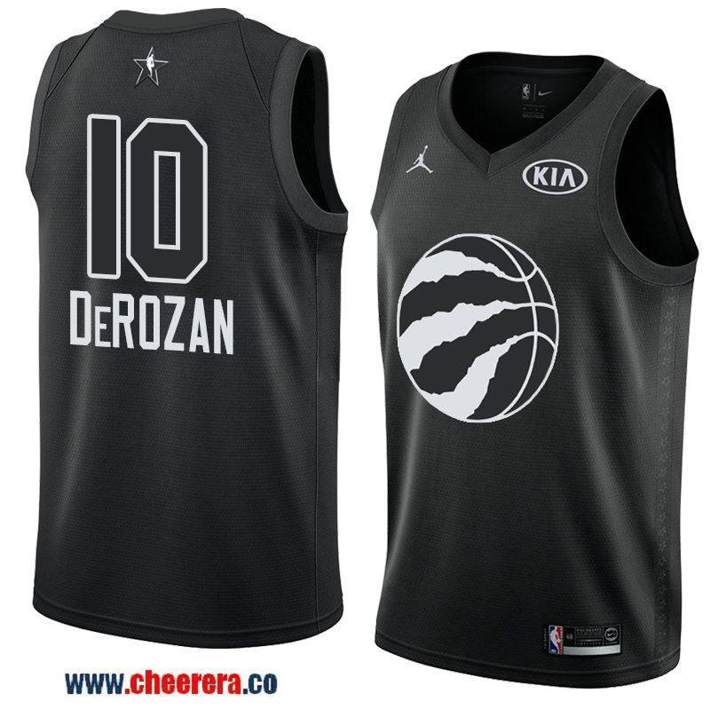 36d31d5697c men s eastern conference toronto raptors  10 demar derozan black 2018 nba  all-star jersey