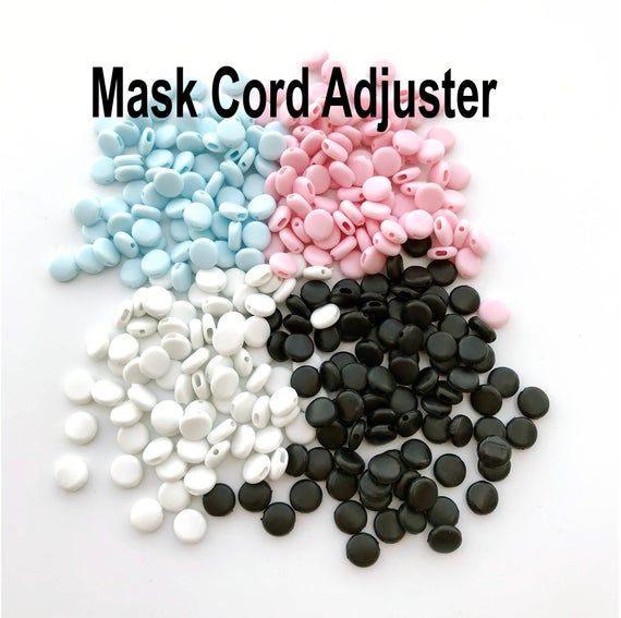 Bulk Cord Locks For Face Mask Mask Cord Stopper Sillicone Gel
