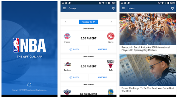 NBA app - Android for free download | Android Apps | Android