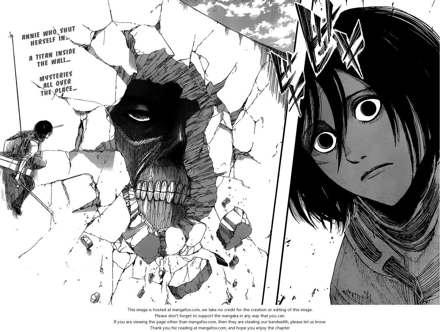 Shingeki no Kyojin 33 The Wall at MangaFox.me Attack on