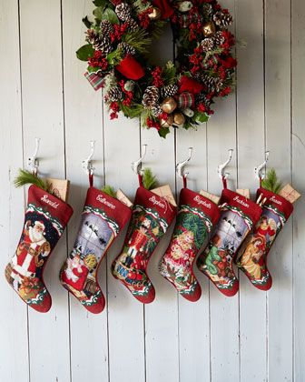 Needlepoint #Christmas #Stockings Amex cardholders can get free 2