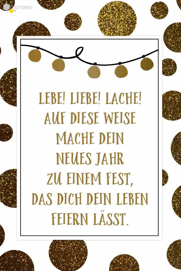 Neujahrsgrüße » 20 Sprüche zum Ausdrucken & Verschicken | Sprüche ...