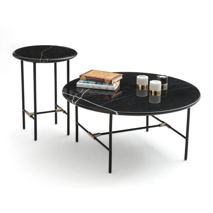 Table Basse Plateau Marbre Botello Table Basse Table Basse Marbre Table Basse En Marbre Noir