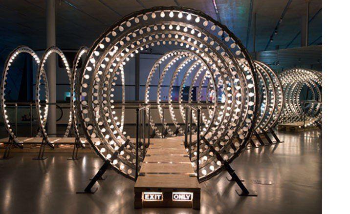 The Kaleidoscopic Eye Art Wallpaper Magazine Design Interiors Architecture Fashion Art Interactive Installation Light Installation Installation Art