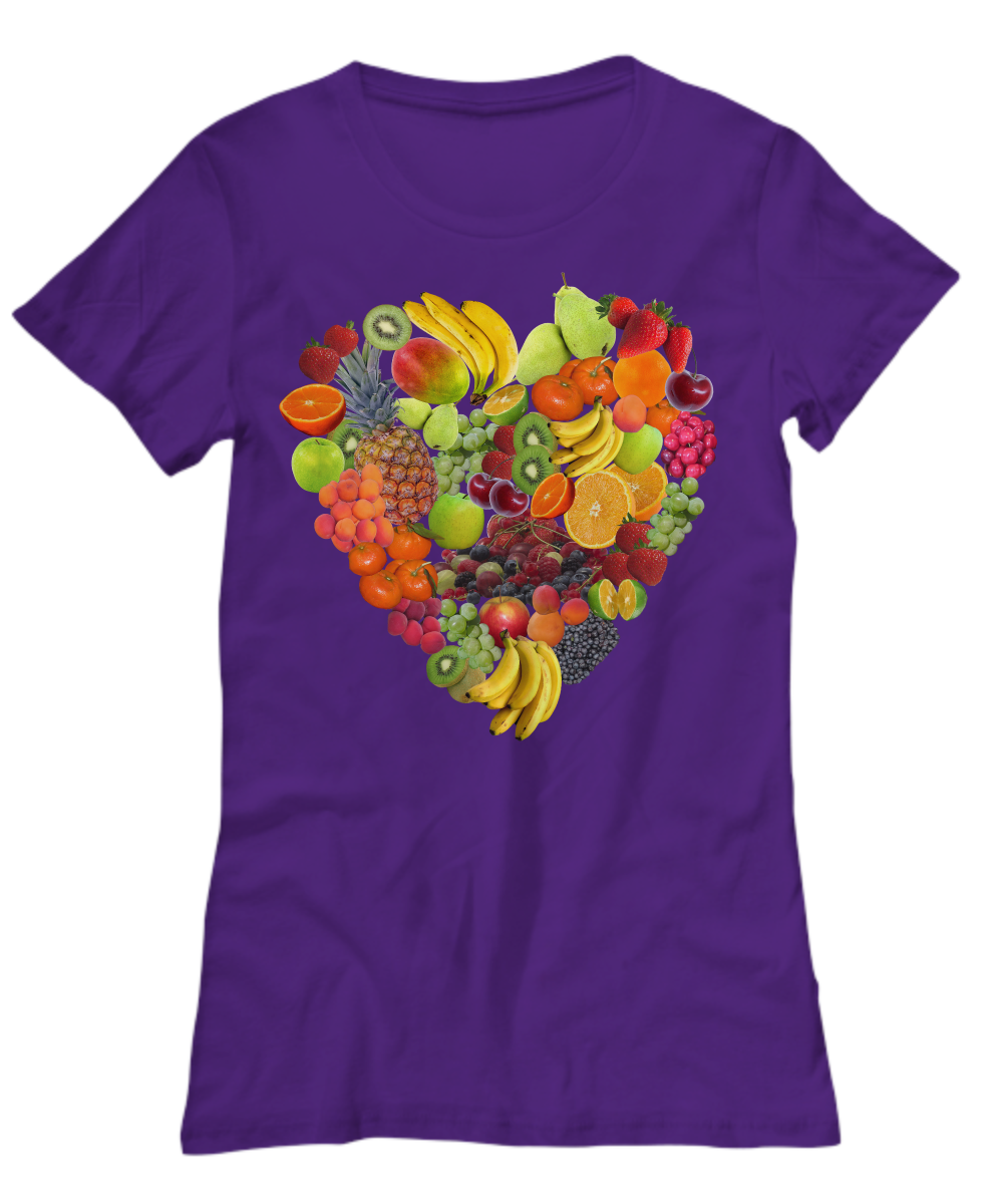 Fruity Heart - Women's Tee