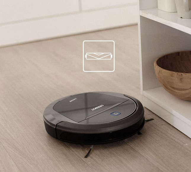 Deebot Moves Safely Around Your Home Using Anti Drop