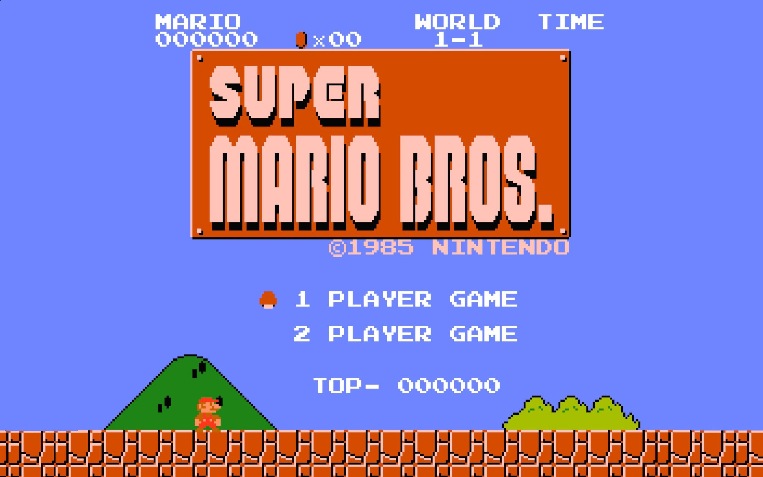 Nintendo Super Mario Bros Retro Games Video Games Wallpaper