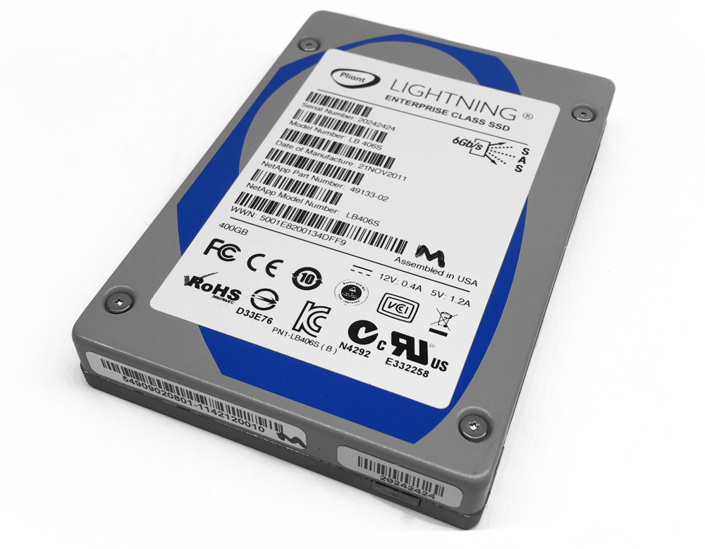 Pliant LB406S 400GB SAS Lightning Enterprise SSD Dell
