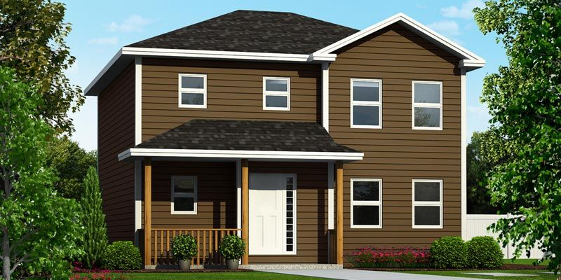 The Augusta design! This is a 1,660 sqft 2storey home