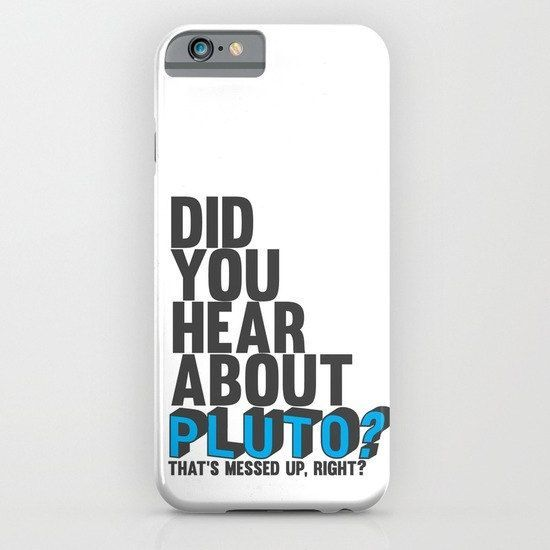 did you hear about pluto.. psych tv show, funny gus pick up line. phone case, iphone, galaxy.. by studiomarshallgifts on Etsy
