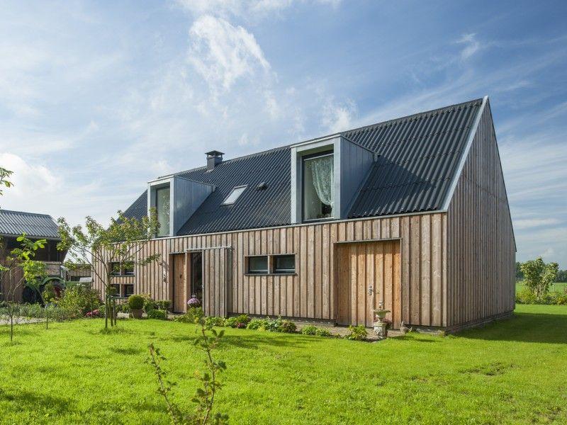 Nieuwbouw Schuurwoning. SatteldachModerne HäuserFassadenRund Ums HausRunde Schöne ...