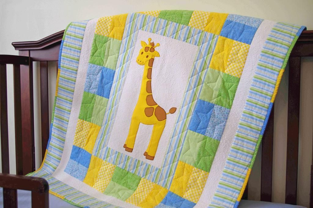 Quilted Gift Ideas for Every Occasion: Get Inspired!   Giraffe ... : free baby quilt applique patterns - Adamdwight.com