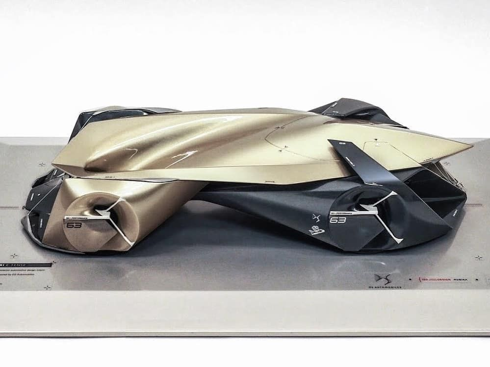DS VENTURI E-Tense // Diploma Thesis // Internship project