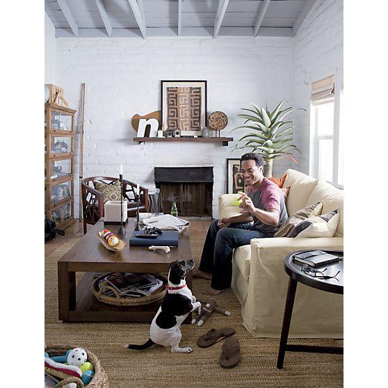 Puppy Love Crate And Barrel Living Room Decor Pink Walls Girls Room Room Decor