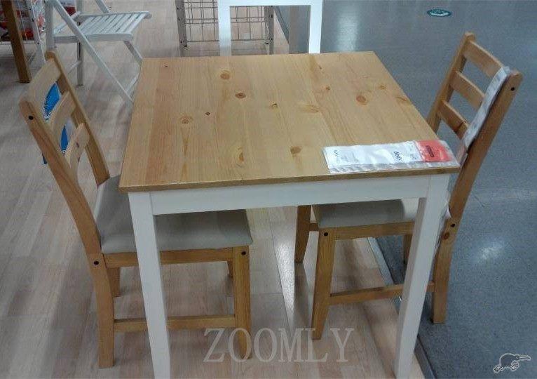 Wondrous Ikea Lerhamn 1 Table 2 Chairs Light Antique Stain Trade Ibusinesslaw Wood Chair Design Ideas Ibusinesslaworg