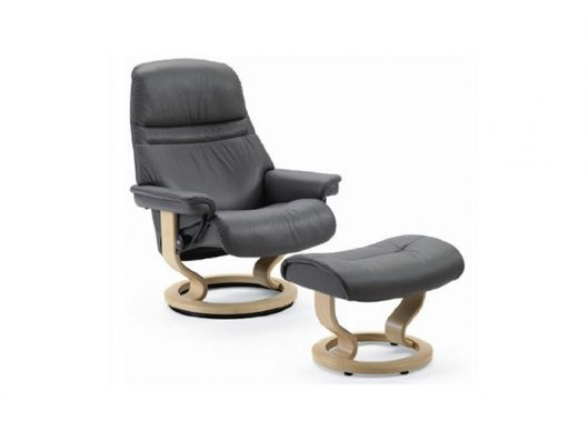Genial Chair Sunrise Small Stressless Recliner Ekornes Available At Reflections  Furniture